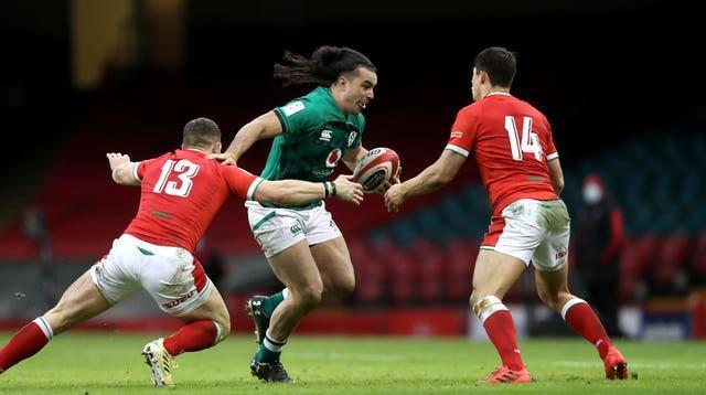 James Lowe made his Guinness Six Nations debut against Wales
