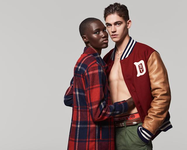 Hero Fiennes Tiffin Fronts Superdry Rebels And Heroes Campaign
