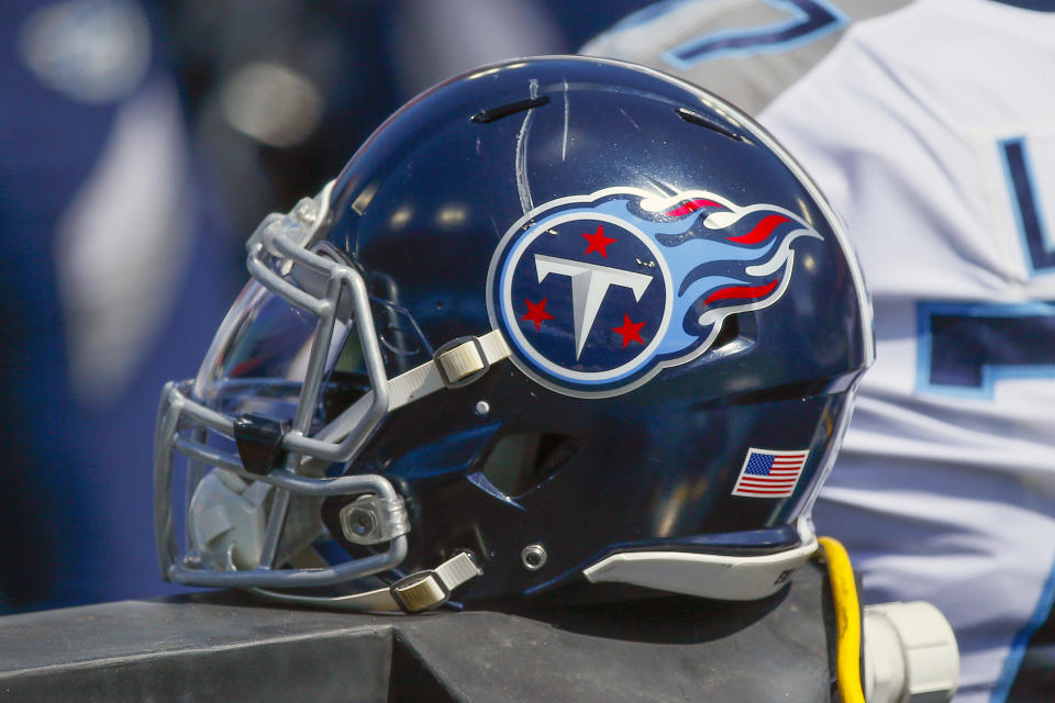 The Titans and BetMGM announced a partnership on Monday. (Photo by Frederick Breedon/Getty Images)