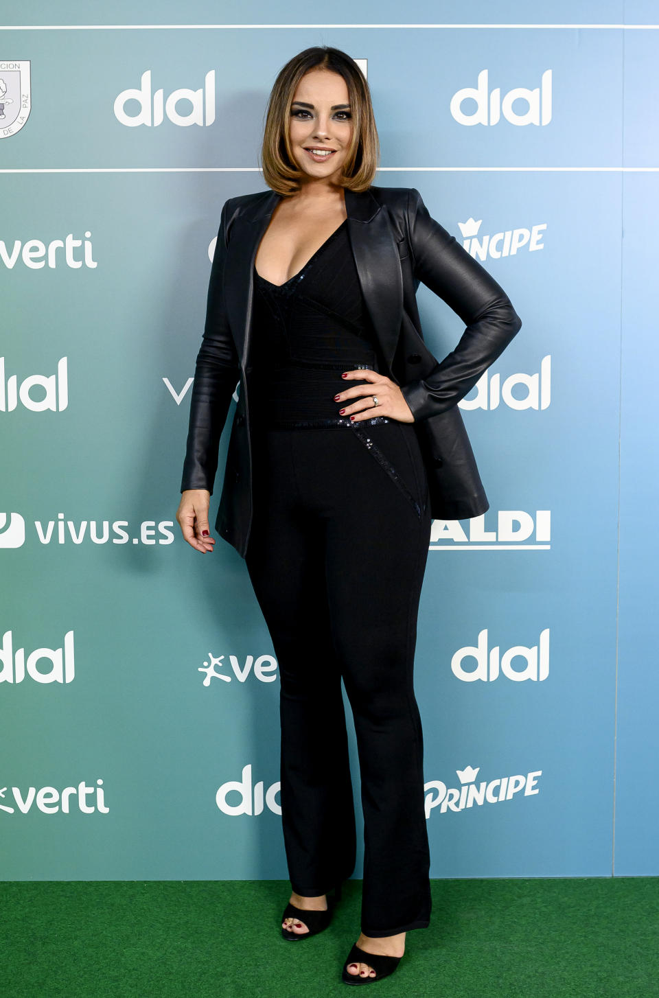 MADRID, SPAIN - SEPTEMBER 06: Chenoa attends during 'Vive Dial' Madrid photocall 2019 on September 06, 2019 in Madrid, Spain. (Photo by Samuel de Roman/Getty Images)