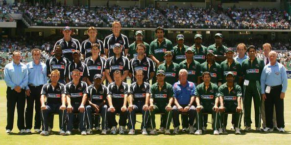 An ODI was held between the two to raise funds following the Indian Ocean tsunami of 2004.