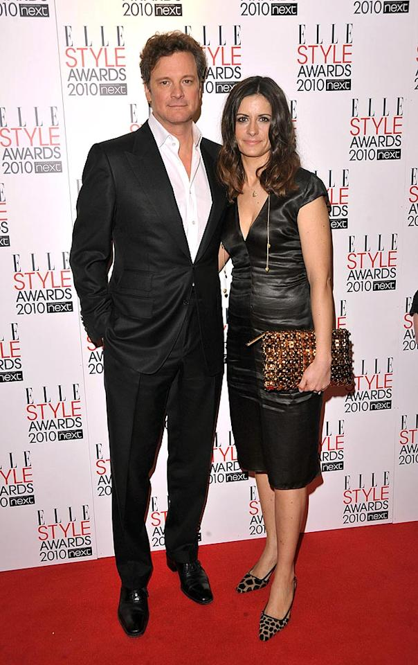"""""""A Single Man's"""" Colin Firth and his producer wife, Livia Giuggiolo, arrived in style. Jon Furniss/<a href=""""http://www.wireimage.com"""" target=""""new"""">WireImage.com</a> - February 22, 2010"""