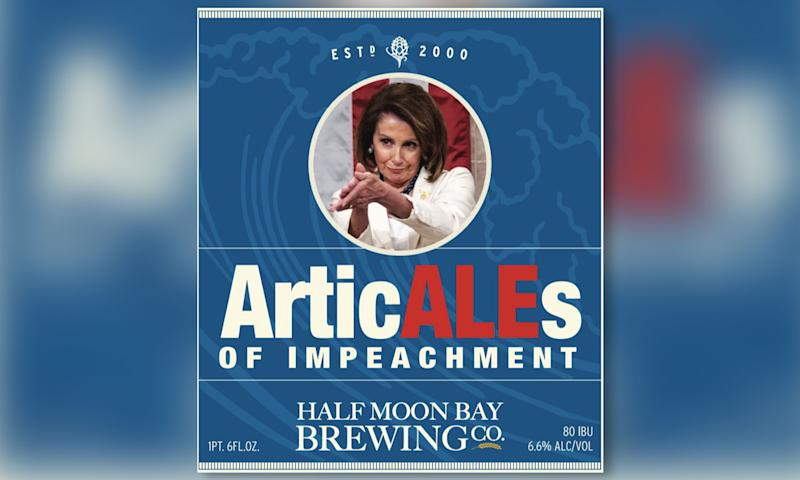 California's Half Moon Bay Brewing Company has a new beer called ArticALEs of impeachment. (Photo: Half Moon Bay Brewing Company)