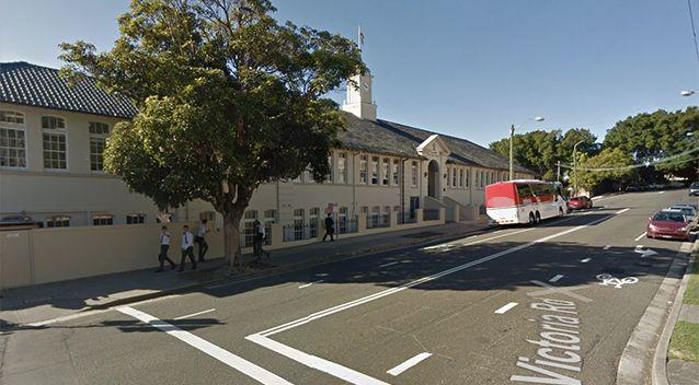 Students from The Scots College allegedly ran a muck. Source: Google Maps