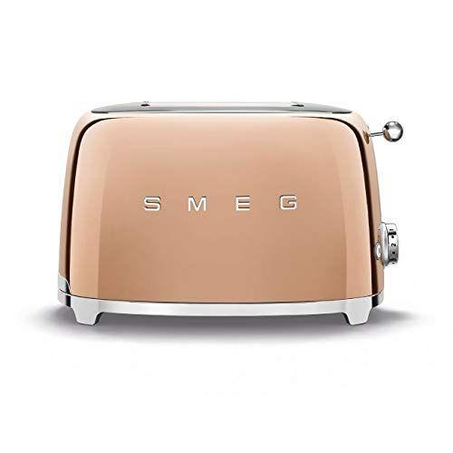 """<p><strong>Smeg</strong></p><p>amazon.com</p><p><strong>$449.99</strong></p><p><a href=""""https://www.amazon.com/dp/B08433ZMLT?tag=syn-yahoo-20&ascsubtag=%5Bartid%7C10052.g.37068366%5Bsrc%7Cyahoo-us"""" rel=""""nofollow noopener"""" target=""""_blank"""" data-ylk=""""slk:Shop Now"""" class=""""link rapid-noclick-resp"""">Shop Now</a></p><p>Burn your toast in style with a copper-hued Smeg toaster. </p>"""