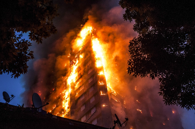 At least 79 people died in the Grenfell Tower fire (Rex)