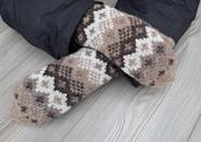 <p>Buy a pair of these <span>Bernie-Inspired Double Knitted Mittens</span> ($48) for every fashion icon you know.</p>