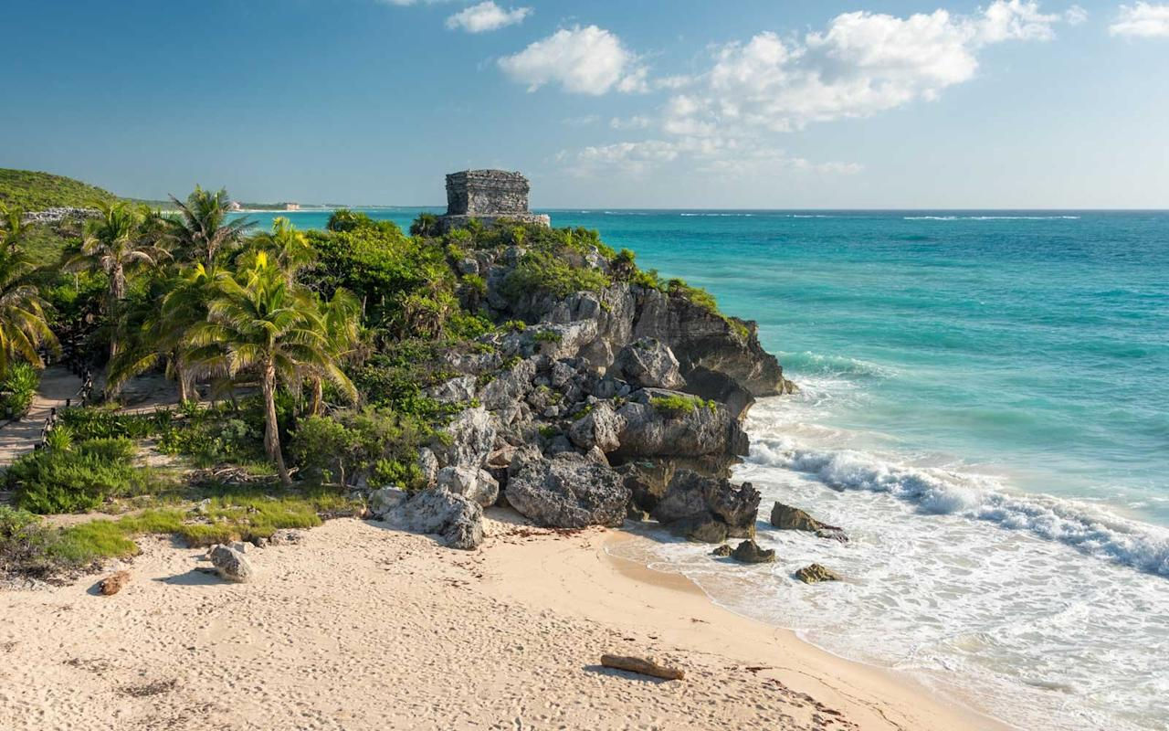 """<p>The secret's been out about <a href=""""https://www.travelandleisure.com/travel-guide/tulum"""" target=""""_blank"""">Tulum</a> for several years now, but we're still pretty enamored with the boho-chic beach town. Here, ancient Mayan ruins crown seaside cliffs, and there are miles of soft white beaches backed by Instagram-perfect resorts and boutique hotels. With a strenuous schedule of morning yoga followed by afternoon margaritas and ceviche under <em>palapas, </em>it's easy to see why people continue to come back for second, third, and fourth visits. Tulum's after-dark scene is arguably as much a draw as its beaches: The main road is a hit parade of stylish restaurants, including the much-lauded <a href=""""http://www.hartwoodtulum.com/"""" target=""""_blank"""">Hartwood</a> (keep an eye out for celebrities) and <a href=""""http://www.murmurtulum.com/"""" target=""""_blank"""">MurMur</a>, from Diego Hernandez, one of Mexico's top chefs. Finish the night by bar hopping to the fabulous watering holes, like <a href=""""http://www.gitanotulum.com/"""" target=""""_blank"""">Gitano</a> and <a href=""""http://casajaguartulum.com/todos-santos/"""">Todos Santos</a>, which specialize in Mexico's smoky spirit, mezcal.</p>"""