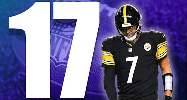 <p>The Steelers gambled on giving Bell another one-year deal. They lost that gamble because their one-dimensional offense is not the same without Bell. (Ben Roethlisberger) </p>
