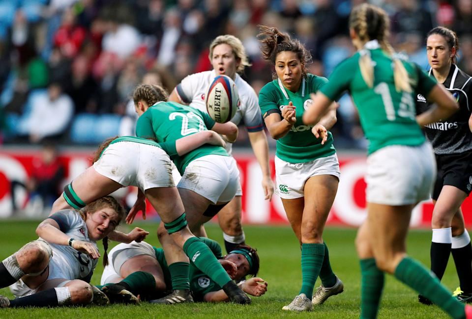 Victory over Italy earned Ireland third place in this year's Women's Six Nations, having earlier beaten Wales and been defeated by France © Action Images
