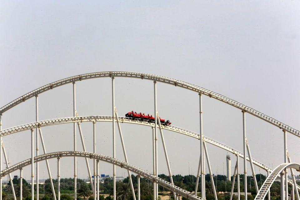 """<p>Kingda Ka may be the highest, Steel Dragon 2000 may be the longest, but Formula Rossa is the fastest — it goes a whopping 149 mph. No wonder it's located at a <a href=""""https://www.ferrariworldabudhabi.com/"""" rel=""""nofollow noopener"""" target=""""_blank"""" data-ylk=""""slk:Ferrari-themed amusement park"""" class=""""link rapid-noclick-resp"""">Ferrari-themed amusement park</a>. At speeds that fast, riders are asked to wear <a href=""""https://www.themeparkinsider.com/flume/201005/1925/"""" rel=""""nofollow noopener"""" target=""""_blank"""" data-ylk=""""slk:protective goggles"""" class=""""link rapid-noclick-resp"""">protective goggles</a> in case of collision with bugs. (Yuck.)</p>"""