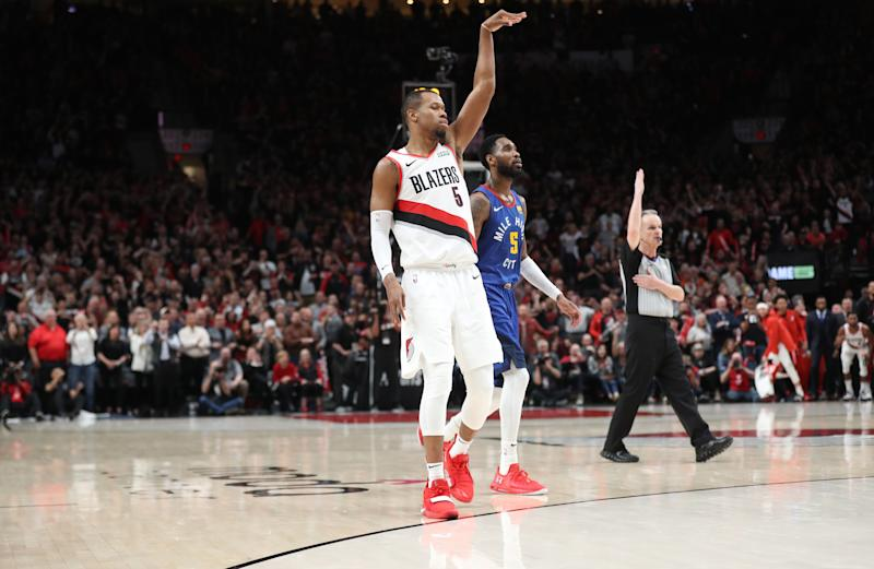 8992dae0bbe8 Everything you need to know from pregame as Trail Blazers prep for Denver  Nuggets in Game 7