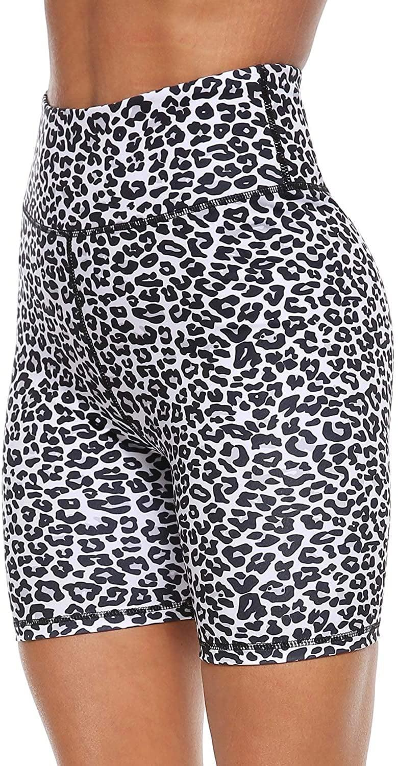 <p>We're very into the print on these <span>Persit High Waist Print Workout Yoga Shorts</span> ($21, originally $23). If leopard's not your thing, though, there are tie-dye, camo, and lots of other prints to choose from.</p>
