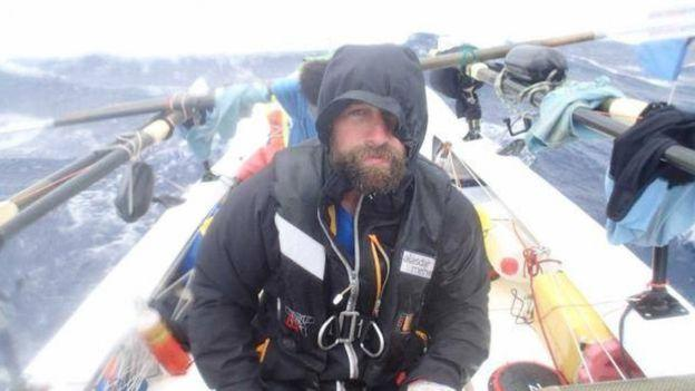 Nick Griffiths, a 47-year-old former Royal Marine, lost three toes during an ultramarathon in the Yukon