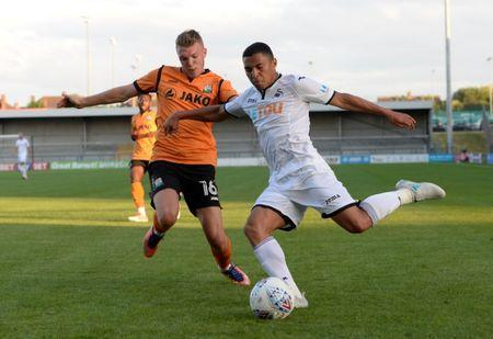 FILE PHOTO - Football Soccer - Barnet vs Swansea City - Pre Season Friendly - London, Britain - July 12, 2017 Swansea's Jefferson Montero in action Action Images via Reuters/Adam Holt