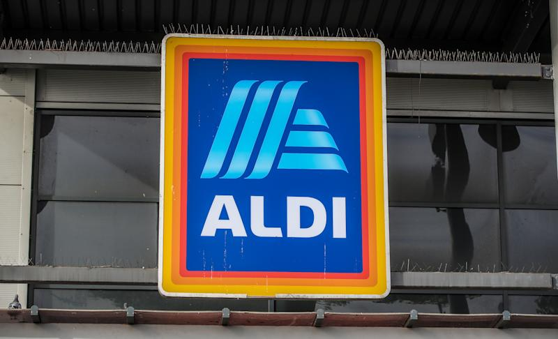 An Aldi store in Marsh Lane Bootle, Liverpool. Aldi has said it plans to more than double its store numbers in London as it moves forward with plans to open more smaller Aldi Local outlets. (Photo by Peter Byrne/PA Images via Getty Images)