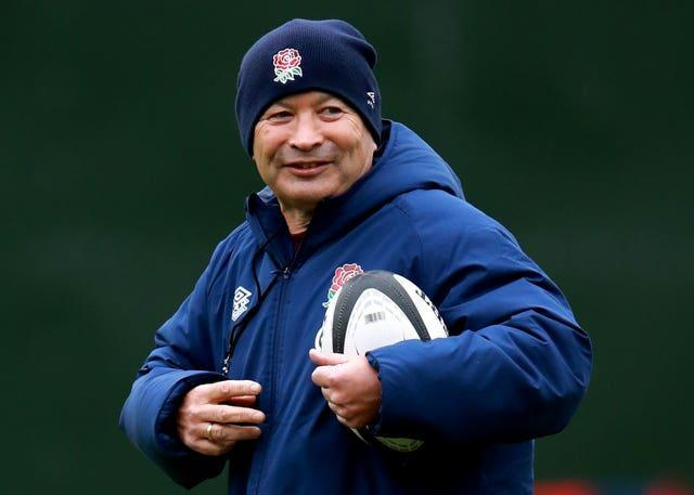 Eddie Jones has been urging his uncapped prospects to seize their opportunity