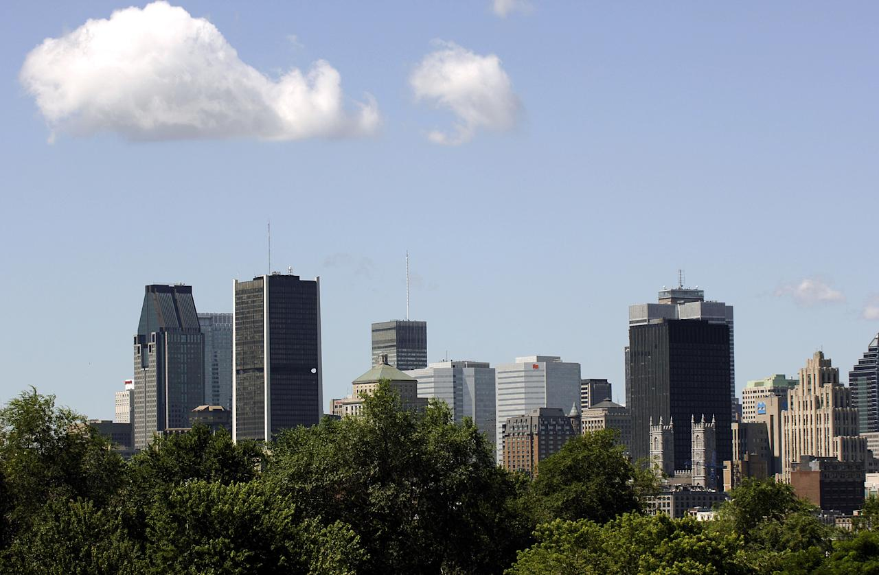 <p><strong>No. 18: Montreal, Que.</strong><br />Average household net worth: $570,175<br /> (AFP Photo/Stan Honda) </p>