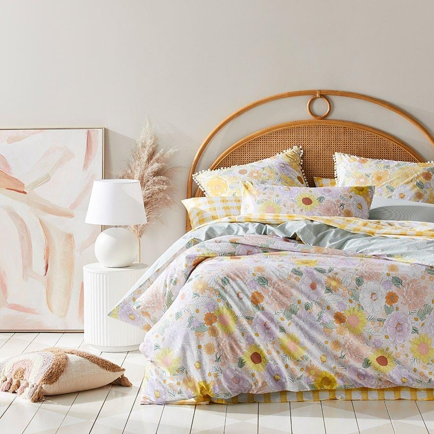 Adairs Estelle Quilt Cover Set, from $89.99.