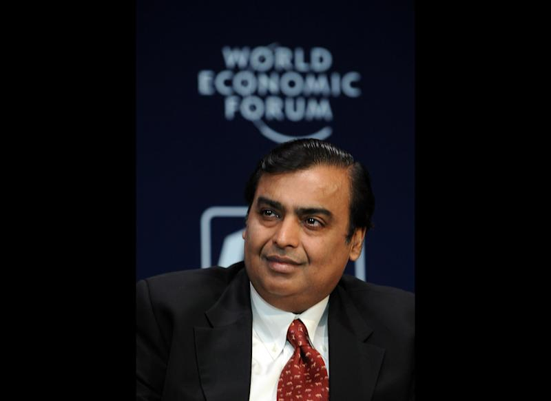 The home is owned by Indian billionaire Mukesh Ambani.