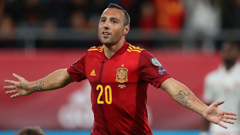 Spain boss Moreno hails 'exceptional' Cazorla after former Arsenal star scores first international goal in four years