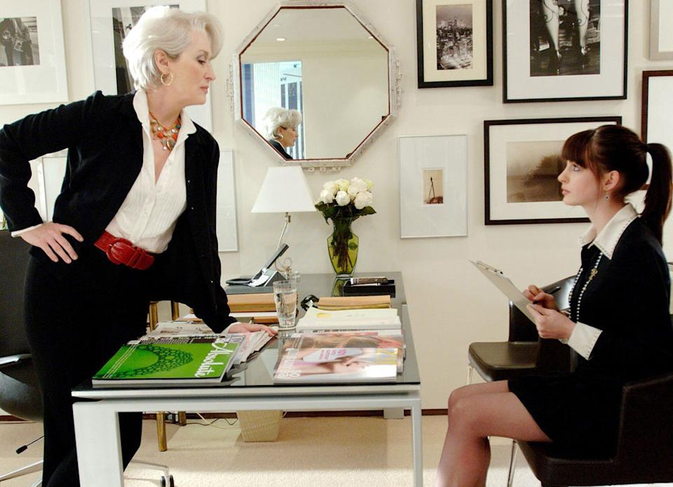 The Devil Wears Prada. Image via 20th Century Fox