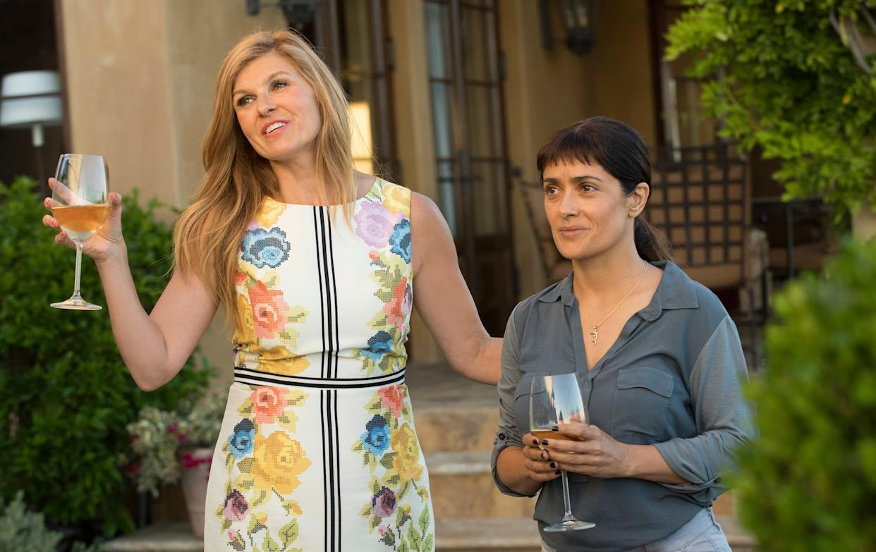 Directed by Miguel Arteta &amp;bull; Written by Mike White<br><br>Starring Salma Hayek, Connie Britton,&amp;nbsp;Chlo&amp;euml; Sevigny, John Lithgow, Jay Duplass, Amy Landecker and John Early<br><br><strong>What to expect:&amp;nbsp;</strong>It's time for Salma Hayek to have a moment. &quot;Beatriz at Dinner&quot; gives her one. Hayek plays a California-based holistic healer who apprehensively dines at her wealthy clients' home after her car breaks down. Beatriz's composure crumbles as her companions' subtle hostility toward immigrants emerges.&amp;nbsp;Miguel Arteta and the exceedingly gifted Mike White are frequent collaborators -- their highlights include &quot;The Good Girl&quot; and the impeccable HBO series &quot;Enlightened.&quot;<br><br><i><span>Watch the trailer</span>.</i>