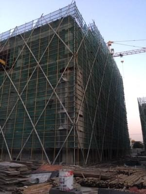 Ongoing construction of the new high-tech medical device manufacturing and R&D facility in the Baoshan region