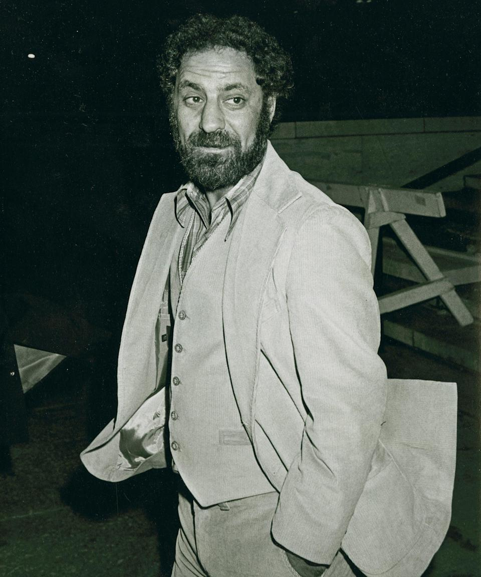 """<h2>Abbie Hoffman</h2><br>Activist Abbie Hoffman was notorious throughout the trial for his theatrics, making headlines for insulting Judge Julies Hoffman (no relation) often and with glee. He was found guilty of intent to incite a riot while crossing state lines and was sentenced to five years in prison and a $5,000 (£3,870) fine. Ultimately, his conviction was overturned by the Seventh Circuit Court of Appeals.<span class=""""copyright""""> Photo: Ron Galella Collection/Getty Images.</span>"""