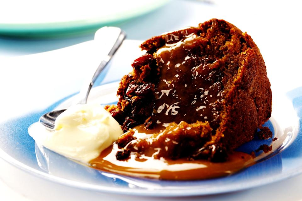 """<p>Winter is the time for stodge and you can't get much more perfect than a good sticky toffee pudding. And who best to help you with such an indulgent pudding than <a rel=""""nofollow noopener"""" href=""""https://www.nigella.com/recipes/easy-sticky-toffee-pudding"""" target=""""_blank"""" data-ylk=""""slk:Nigella herself"""" class=""""link rapid-noclick-resp"""">Nigella herself</a>? [Photo: Getty] </p>"""