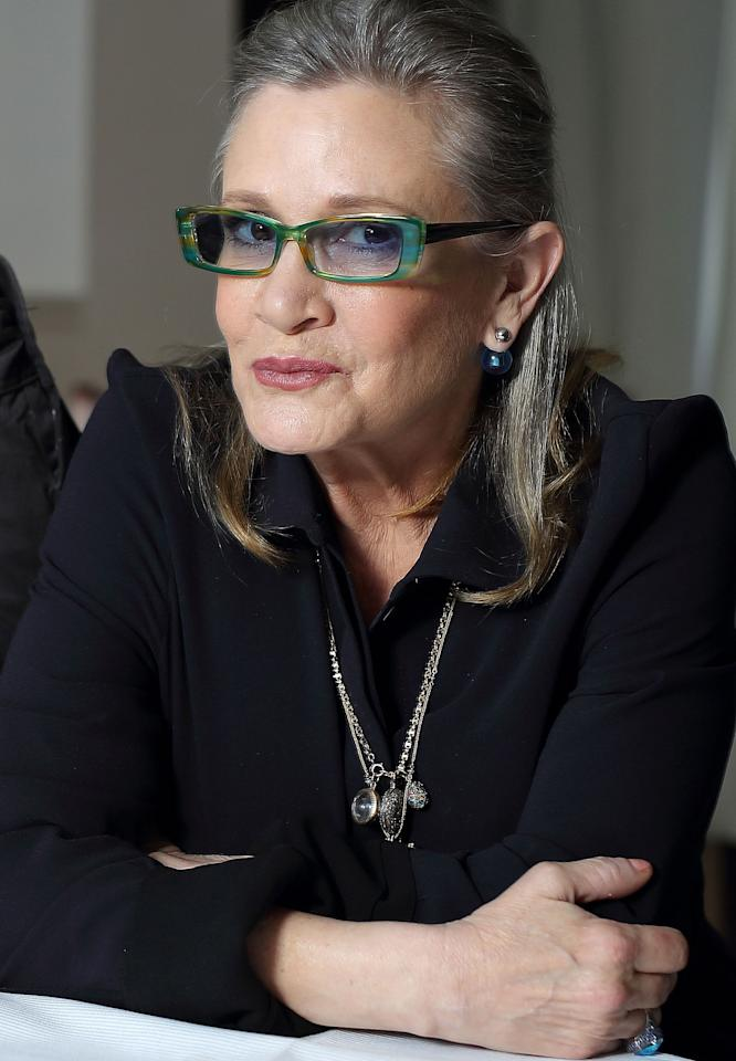 After suffering a heart attack on a flight from London to L.A. four days before, Fisher died on Dec. 27, leaving behind daughter Billie Lourd. Best known for playing Princess Leia in Star Wars, Fisher - daughter of Debbie Reynolds and Eddie Fisher - grew up in the spotlight, and stayed there until her final days, appearing in Star Wars: The Force Awakens and Catastrophe, and penning several books and screenplays. One day after her passing, Fisher's mother died at the age of 84.