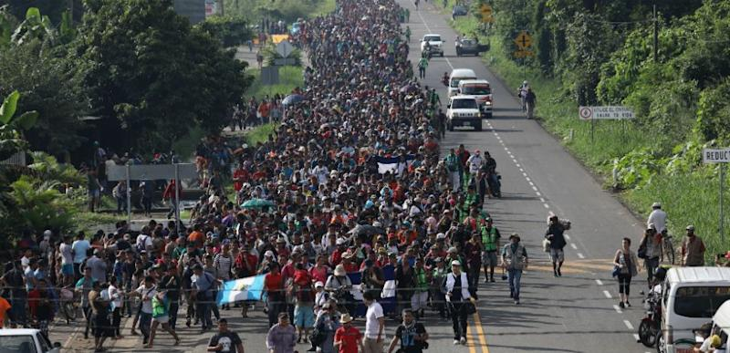 UN says US must allow migrant caravan