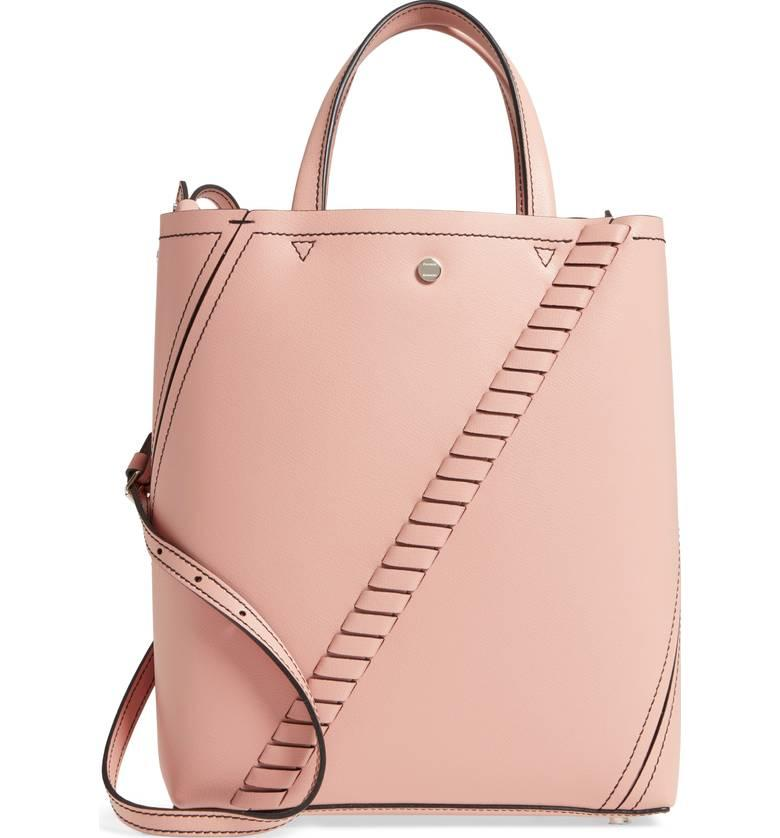 """<p>A petite pink tote is exactly what every on-the-go millennial needs in their life.</p><p><em>$995, Proenza Schouler</em></p><p><a rel=""""nofollow"""" href=""""https://shop.nordstrom.com/s/proenza-schouler-mini-hex-whipstitch-calfskin-leather-tote/4797205?origin=keywordsearch-personalizedsort&fashioncolor=DEEP%20BLUSH"""">Buy Now</a></p>"""