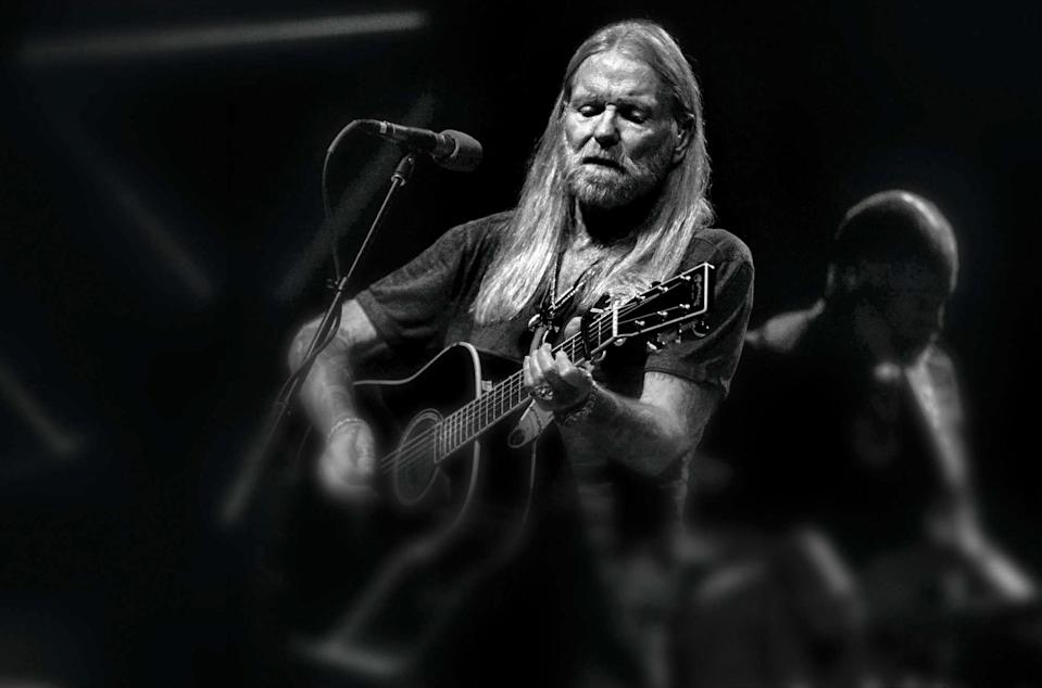 """<p>On May 27, Allman, the rock and blues pioneer who founded the famed Allman Brothers Band with his late brother, Duane, <a rel=""""nofollow"""" href=""""https://www.yahoo.com/music/gregg-allman-soulful-trailblazer-southern-rock-dies-69-190958624.html"""" data-ylk=""""slk:died at 69;outcm:mb_qualified_link;_E:mb_qualified_link;ct:story;"""" class=""""link rapid-noclick-resp yahoo-link"""">died at 69</a> due to complications from liver cancer. Amid a career filled with chart-topping hits including """"Midnight Rider"""" and """"Melissa,"""" Allman had long battled drug and alcohol addiction, prompting ex-wife Cher to walk out of their union just nine days after they married. (They reconciled, only to split again years later.) Allman was diagnosed with hepatitis C in 1999 and underwent a liver transplant in 2010. (Photo: Getty Images) </p>"""