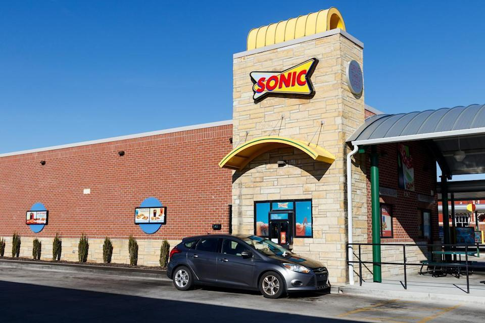 "<p>While Sonic isn't <a href=""https://www.thedailymeal.com/eat/iconic-restaurant-of-every-state-dc?referrer=yahoo&category=beauty_food&include_utm=1&utm_medium=referral&utm_source=yahoo&utm_campaign=feed"" rel=""nofollow noopener"" target=""_blank"" data-ylk=""slk:the one restaurant in Nebraska you absolutely need to visit"" class=""link rapid-noclick-resp"">the one restaurant in Nebraska you absolutely need to visit</a>, it is the state's favored fast food chain.</p>"