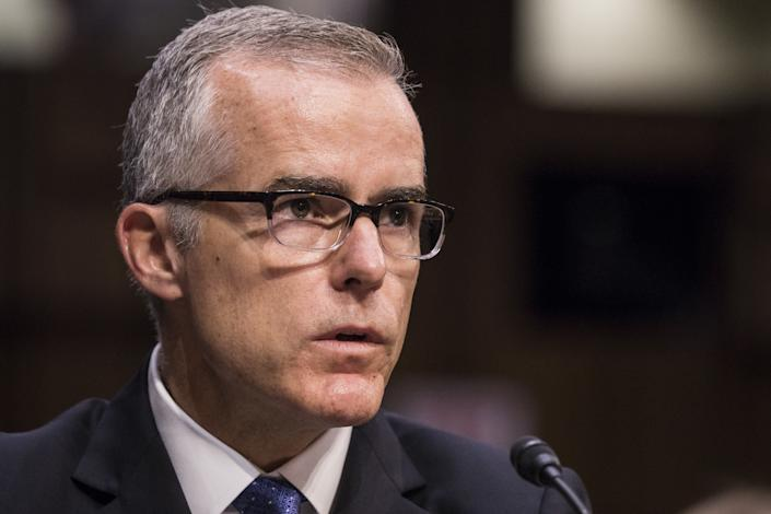 The Times reported that Trump suggested McCabe, who served as acting FBI director for a few months in mid-2017, had a conflict of interest because McCabe's wife received a campaign donation during a 2015 Virginia Senate race from a PAC connected with Virginia Gov. Terry McAuliffe, a Democrat and friend of Hillary and Bill Clinton.