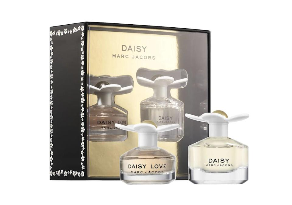 <p>The crisp, light notes in this <span>Marc Jacobs Daisy Mini Perfume Set</span> ($25) are ideal for everyday.</p>
