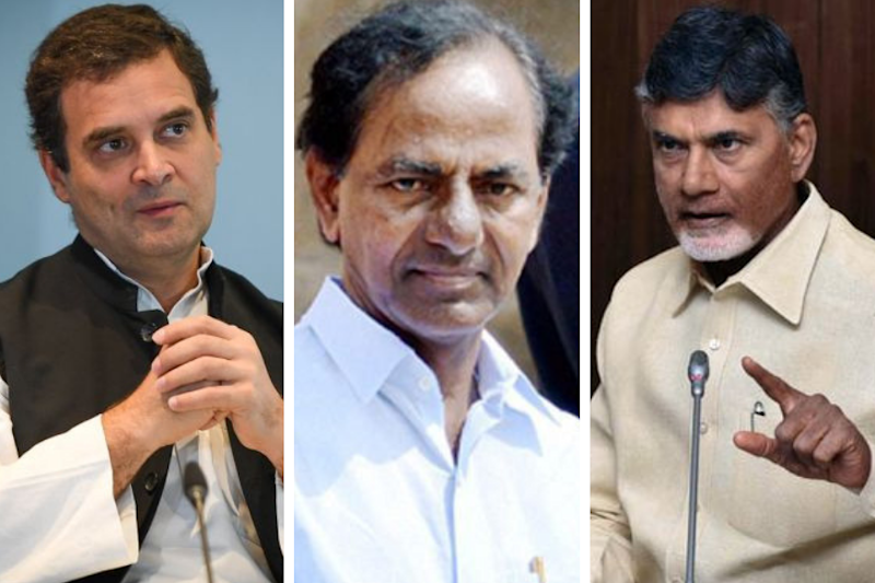 Rahul Gandhi's Presence Forces KCR to Rethink Decision on Attending Mamata's Jan 19 Rally
