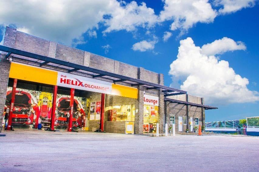 Shell Retail station