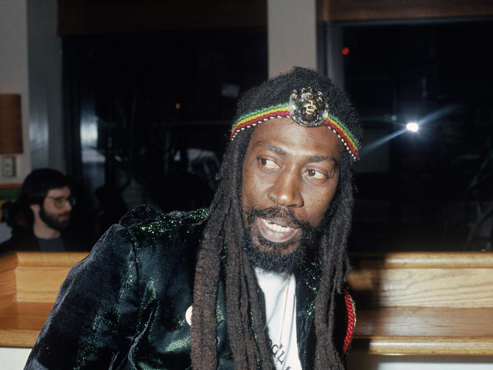 Bunny Wailer pictured in 1975 (Getty Images)