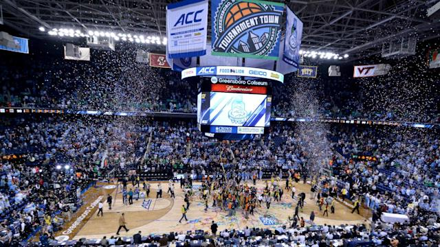 Following Thursday's repeal of the controversial HB2 law, the ACC said Friday it would consider North Carolina for future events.