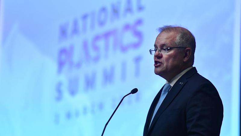 Scott Morrison has announced new rules for federal departments on recyclables, to cut down on waste
