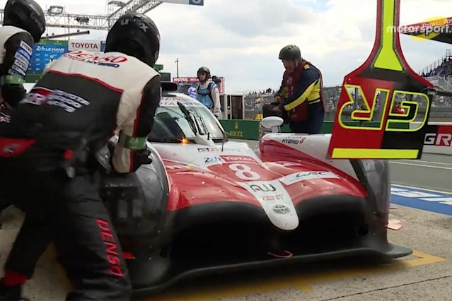 One of the major talking points from this year's Le Mans 24 Hours was the debate over if the race-winning #8 Toyota should have been penalised for a pitstop infringement