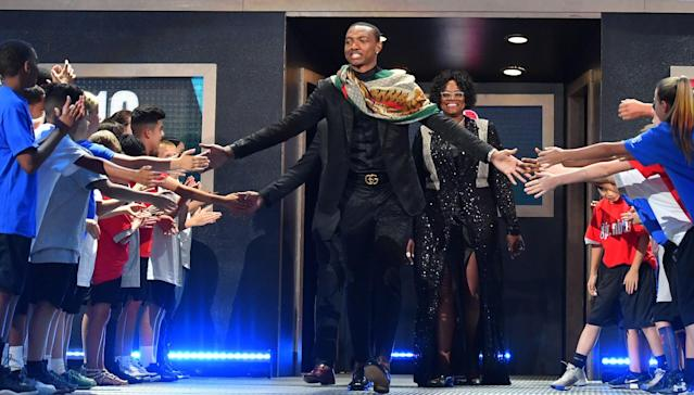 Wendell Carter Jr. could be a top-three pick in the NBA draft when it comes to fashion. (Getty Images)