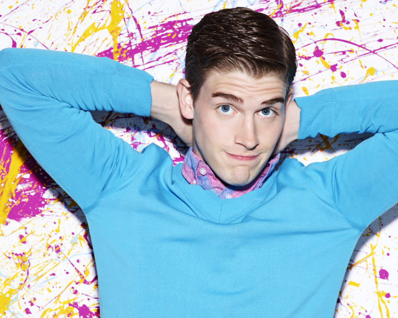 "Brendan Dooling as Walt in ""The Carrie Diaries."""