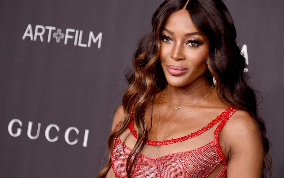 Naomi Campbell defended Ms Wintour, saying the Vogue editor had been important to her career - FILMMAGIC