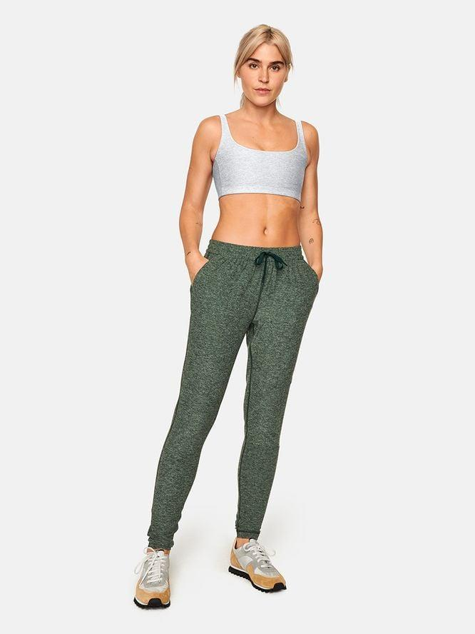 <p>During an outdoor Yin yoga session, you'll want to be as comfortable as possible. Enter: the <span>Outdoor Voices Cloudknit Sweatpants</span> ($88). While they're available in four different colors, we're eyeing this hunter-green pair. </p>