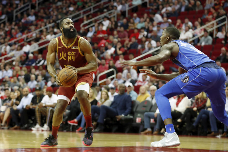 James Harden: Rockets star makes worrying injury claim after win over Mavericks