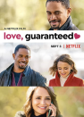 "<p>If you're a fan of Hallmark movies, check this one out. It follows a lawyer and a perpetually single man who team up to sue a dating app for failing to provide love. The catch? They may just find that love along the way.</p><p><a class=""link rapid-noclick-resp"" href=""https://www.netflix.com/search?q=Love%2C+Guaranteed&jbv=81076898"" rel=""nofollow noopener"" target=""_blank"" data-ylk=""slk:STREAM NOW"">STREAM NOW</a></p>"