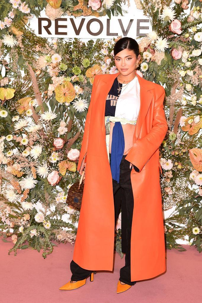 Kylie Jenner, pictured on Sept. 9, is expecting her second child. (Photo: Bryan Bedder/Getty Images for REVOLVE)